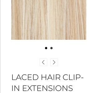 Laced Clip-In Hair Extensions-20 inch